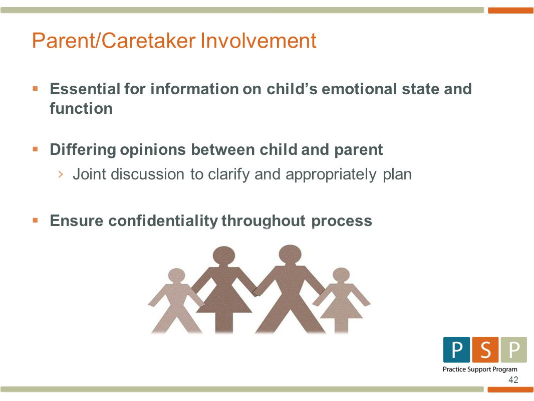 Parent/Caretaker Involvement
