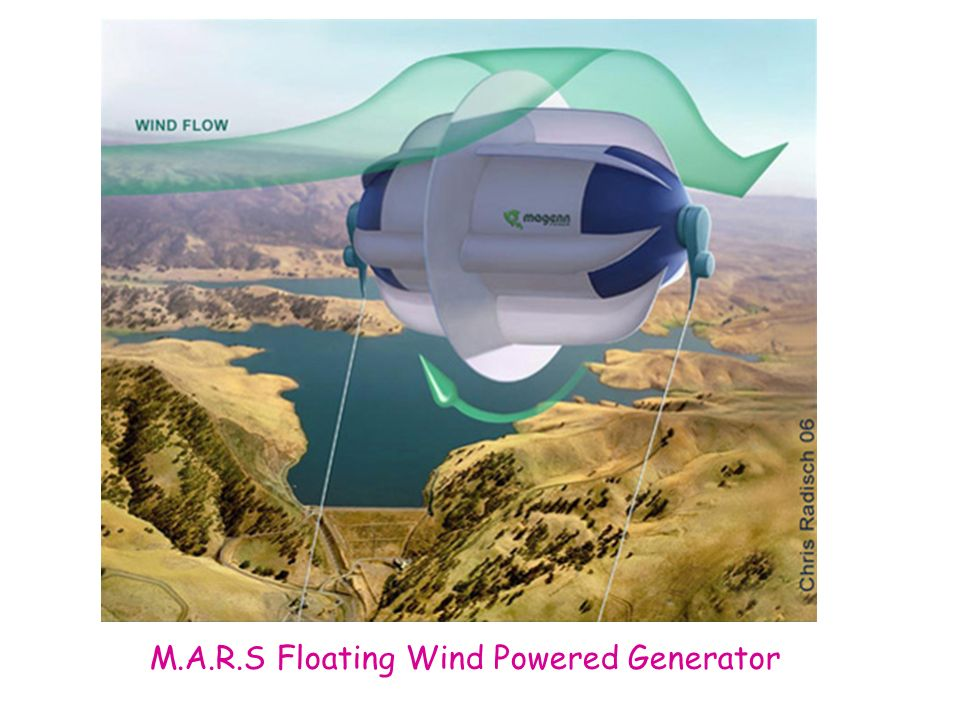 M.A.R.S Floating Wind Powered Generator