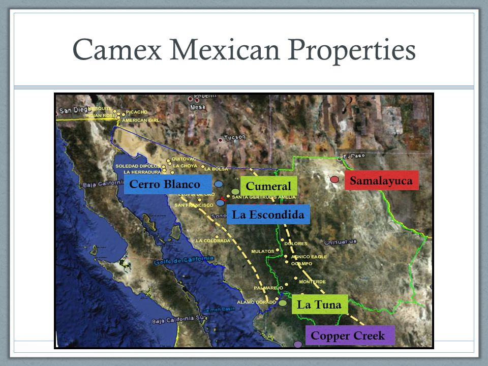 Camex Mexican Properties