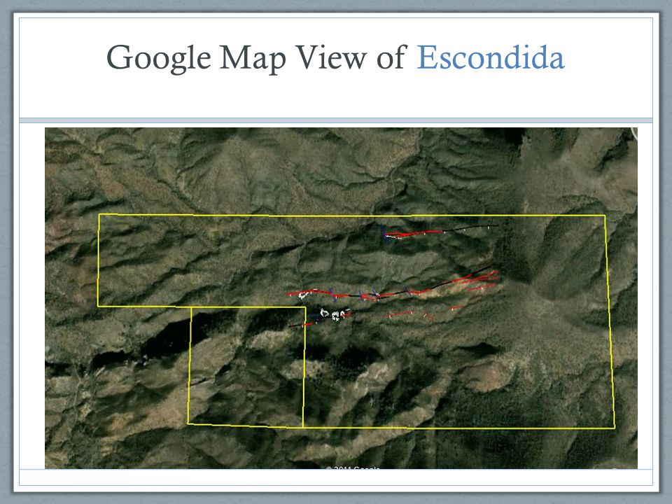 Google Map View of Escondida
