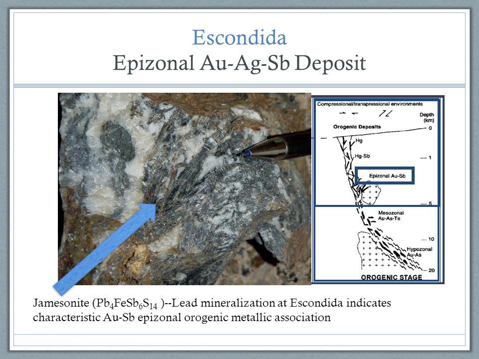 Epizonal Au-Ag-Sb Deposit