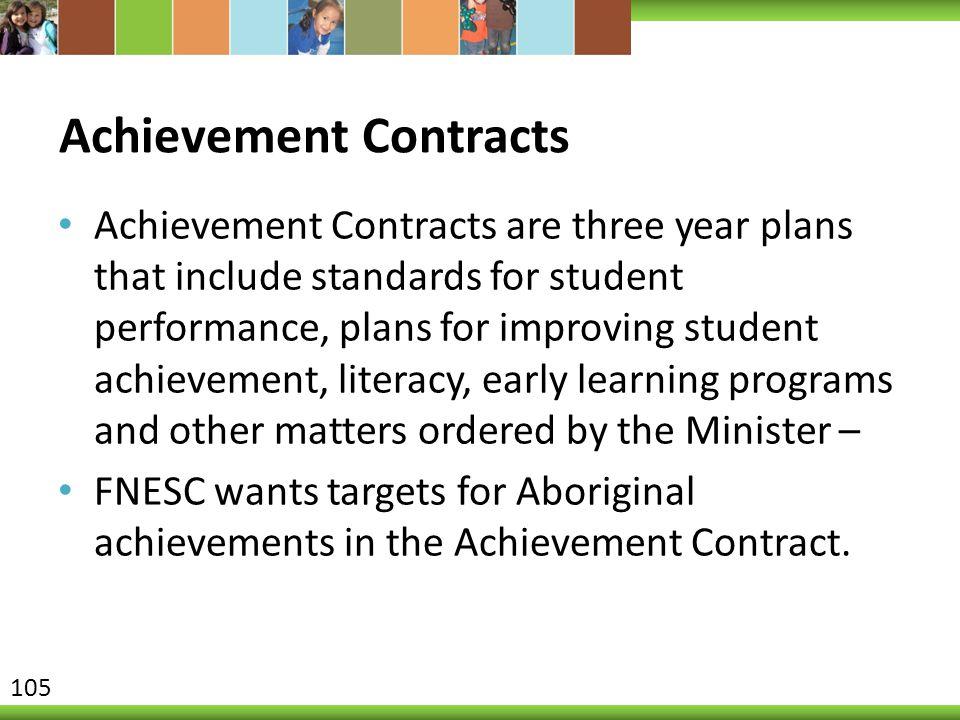 Achievement Contracts