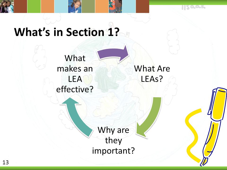 What makes an LEA effective