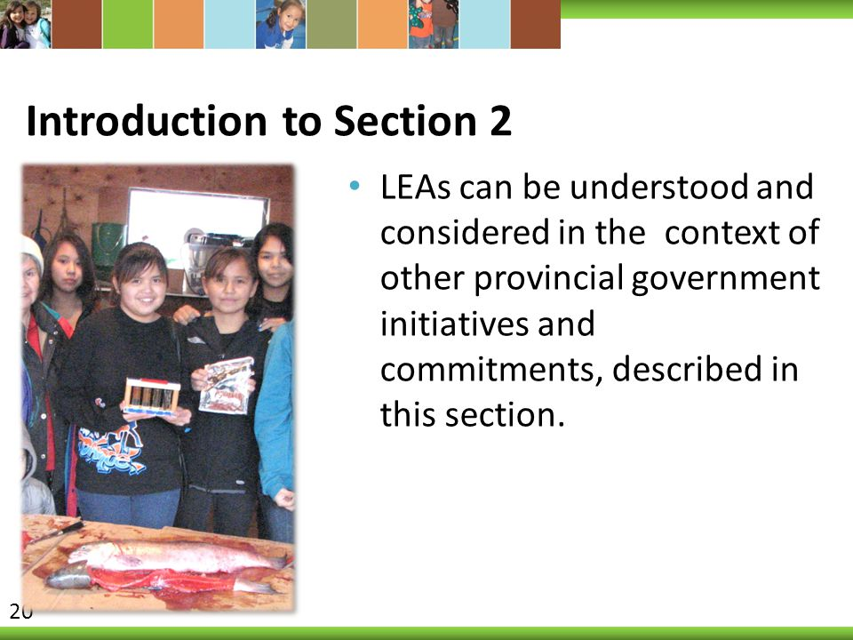 Introduction to Section 2