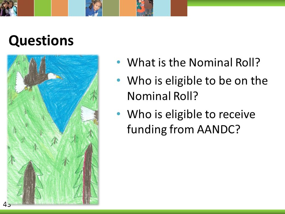 Questions What is the Nominal Roll