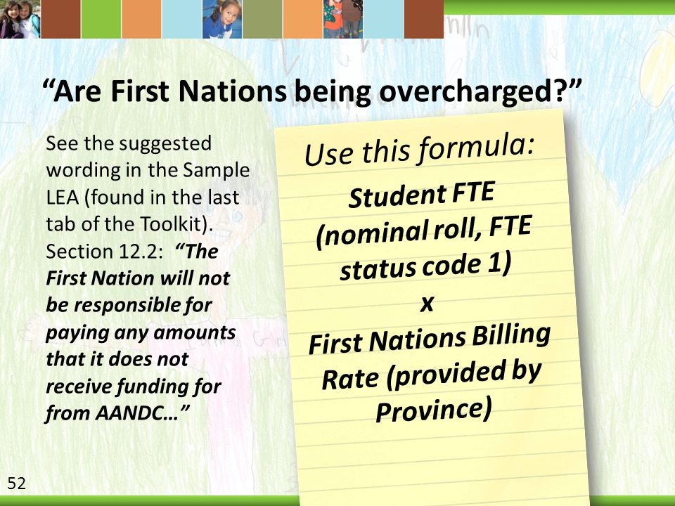 Are First Nations being overcharged
