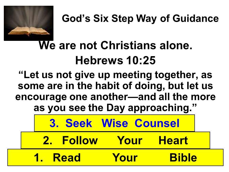God's Six Step Way of Guidance