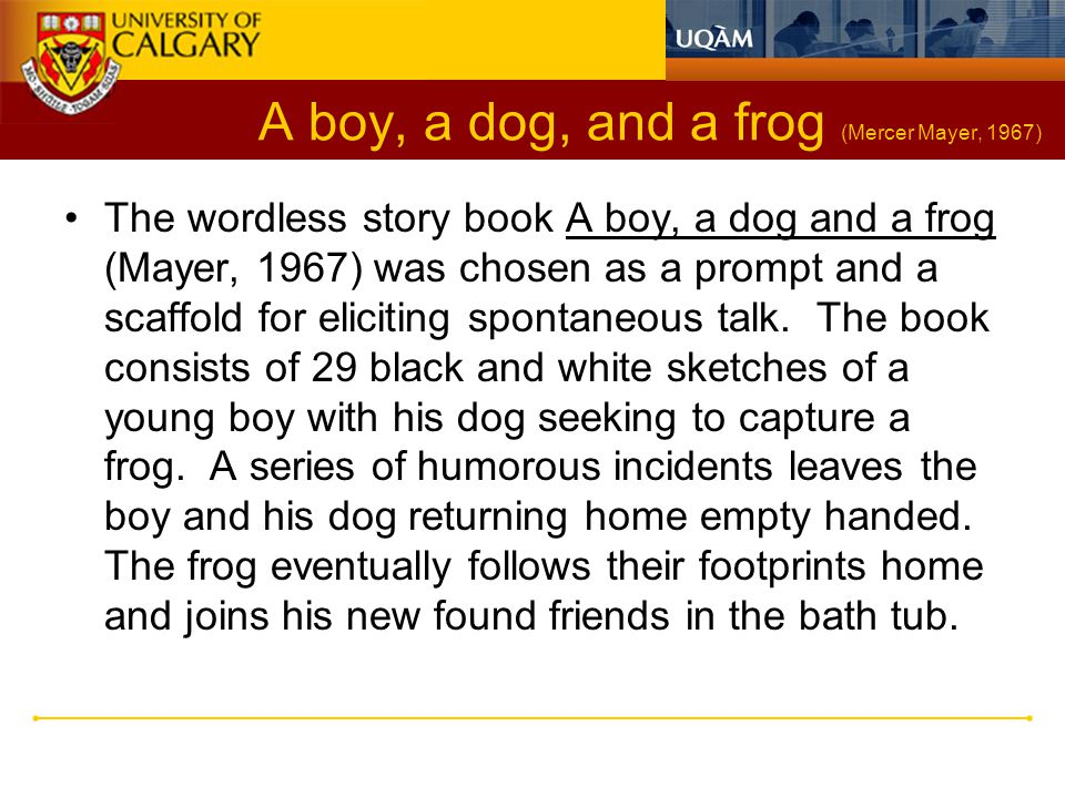 A boy, a dog, and a frog (Mercer Mayer, 1967)
