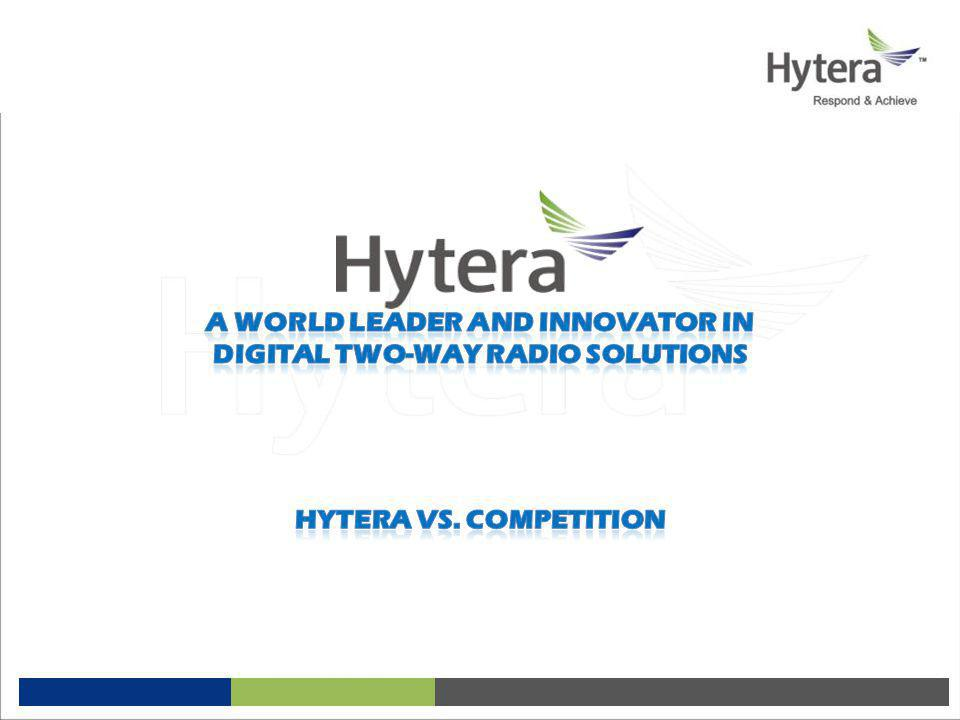 A world leader and innovator in Digital two-way radio solutions