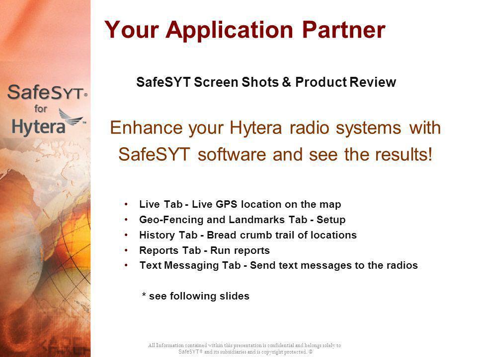 Your Application Partner