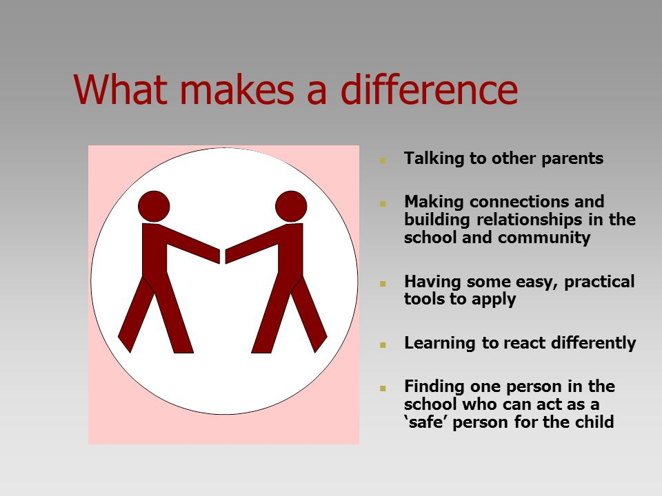 What makes a difference