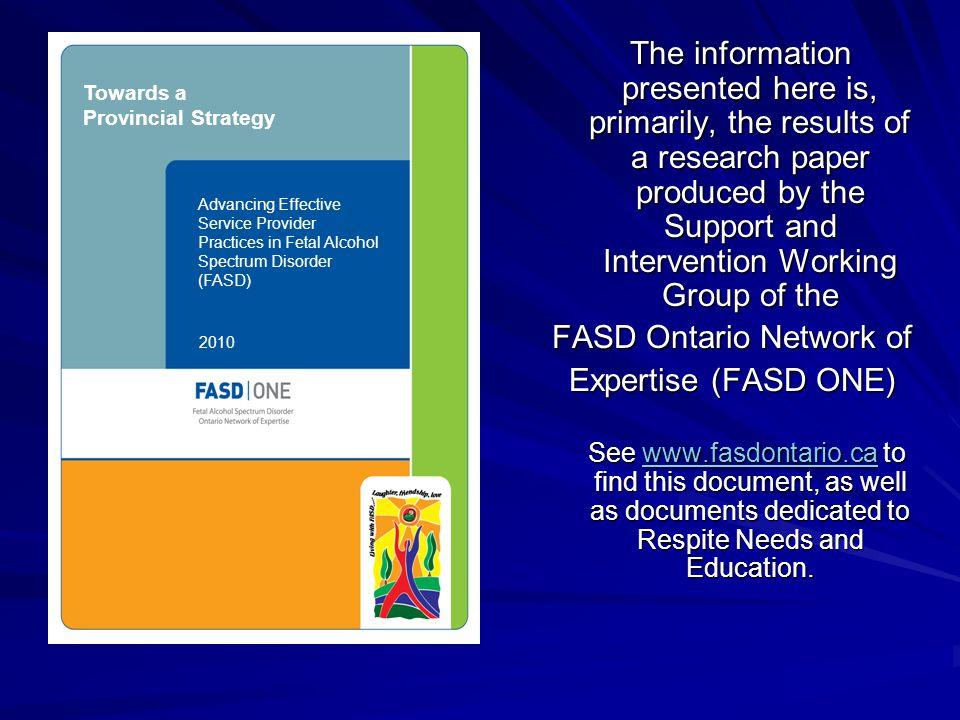 FASD Ontario Network of
