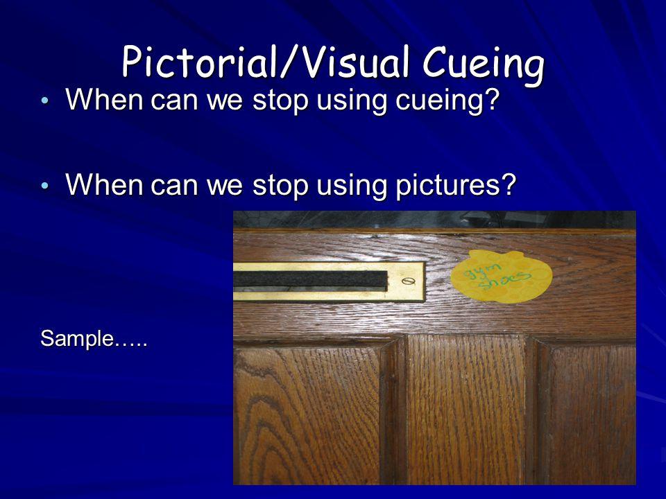 Pictorial/Visual Cueing