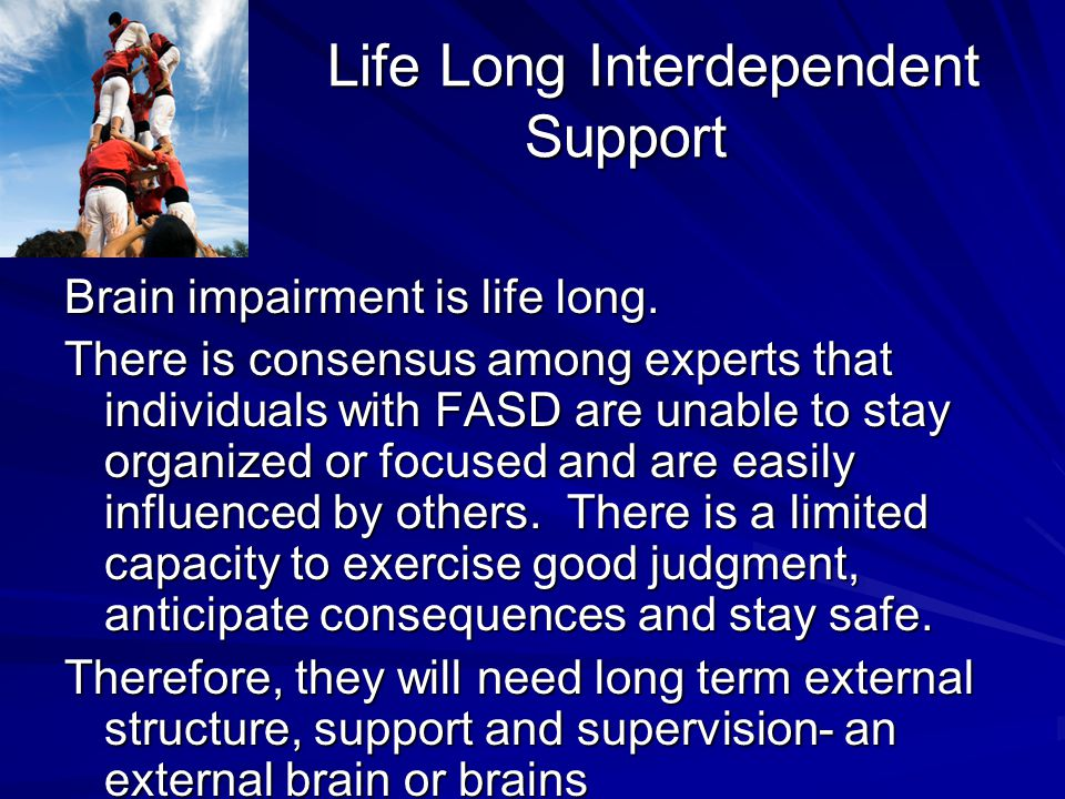 Life Long Interdependent Support
