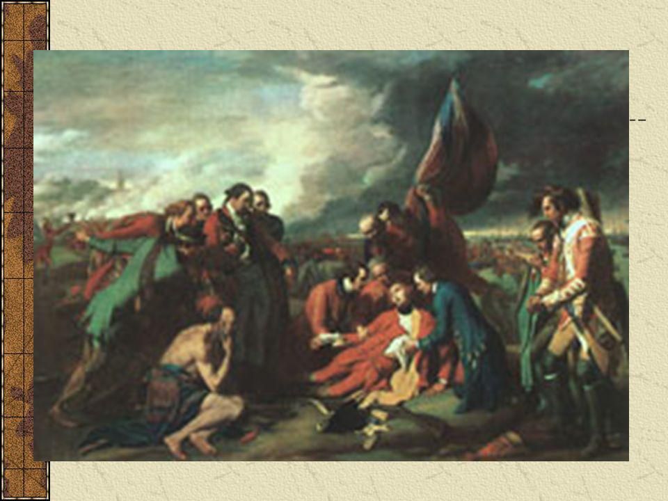 The Death of Wolfe by Benjamin West,1770