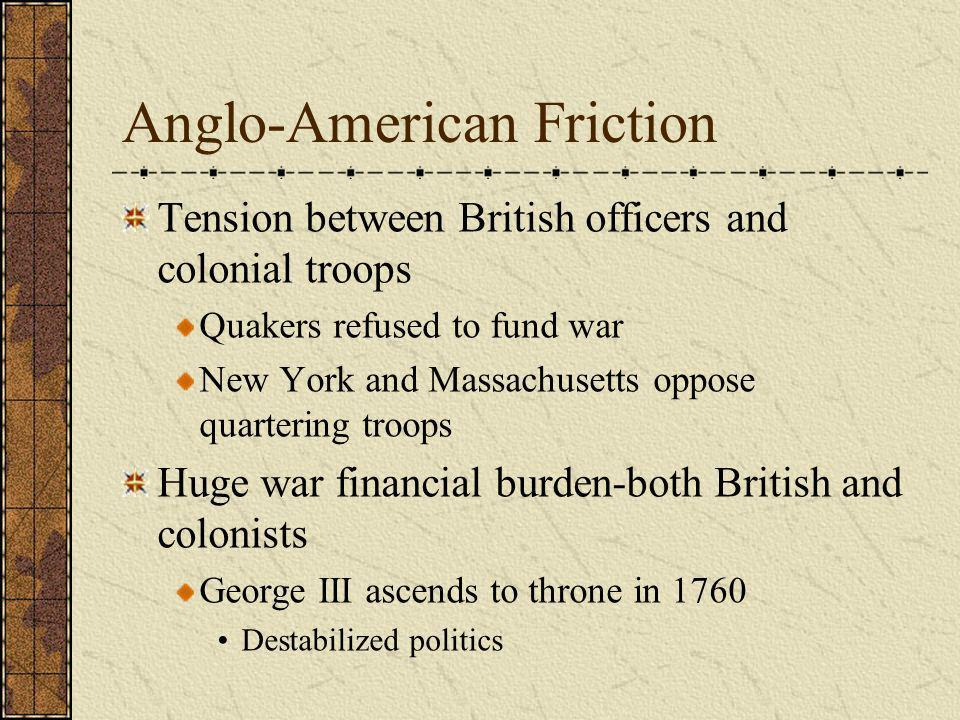 Anglo-American Friction