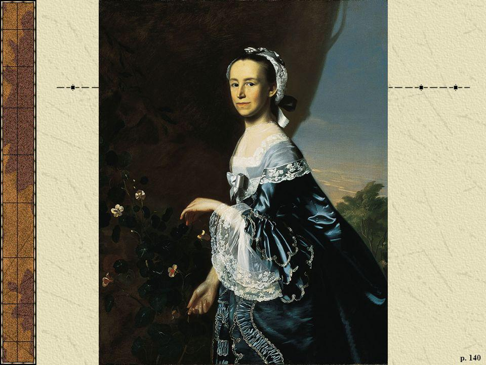 MERCY OTIS WARREN, BY JOHN SINGLETON COPLEY, 1763 An essayist and playwright, Warren was the most prominent woman intellectual of the Revolutionary era. (Museum of Fine Arts, Boston, Bequest of Winslow Warren. Photograph@ 2009 Museum of Fine Arts, Boston)
