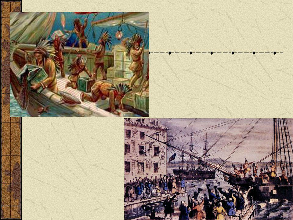 In case you didn t know, around the time of the Boston Tea Party in the late 1700 s, the colonies in the United States were still governed by Great Britain. Although the colonists didn t like this fact, they never put up much of a fuss. However, in 1765 the Stamp Act was put forth, along with the Townshend Acts in 1767.