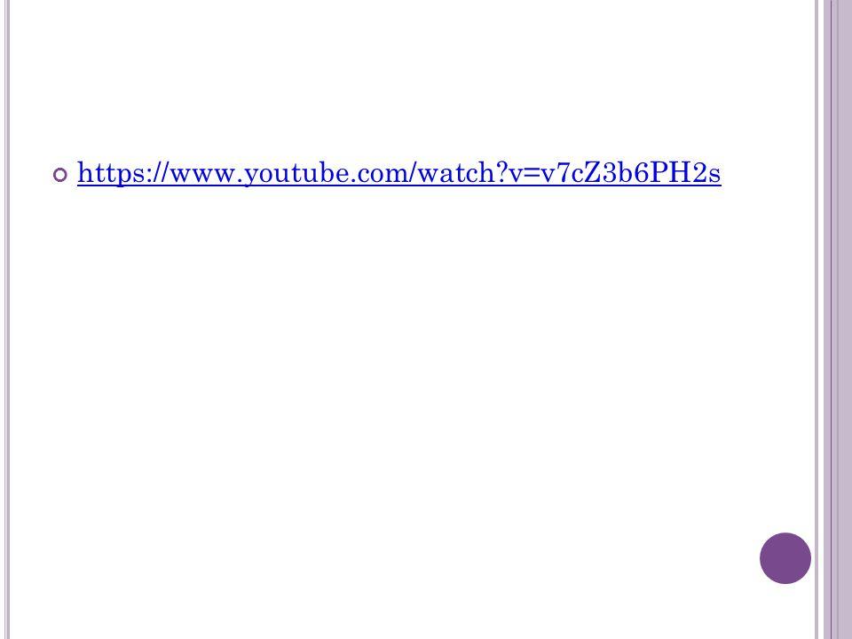 https://www.youtube.com/watch v=v7cZ3b6PH2s
