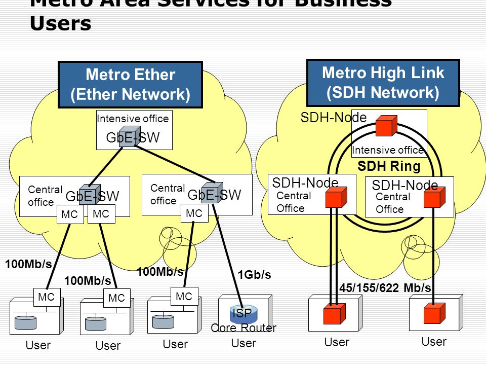 Metro Area Services for Business Users