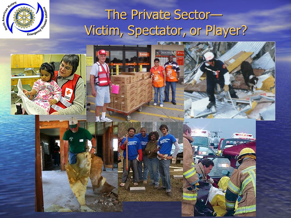 The Private Sector— Victim, Spectator, or Player