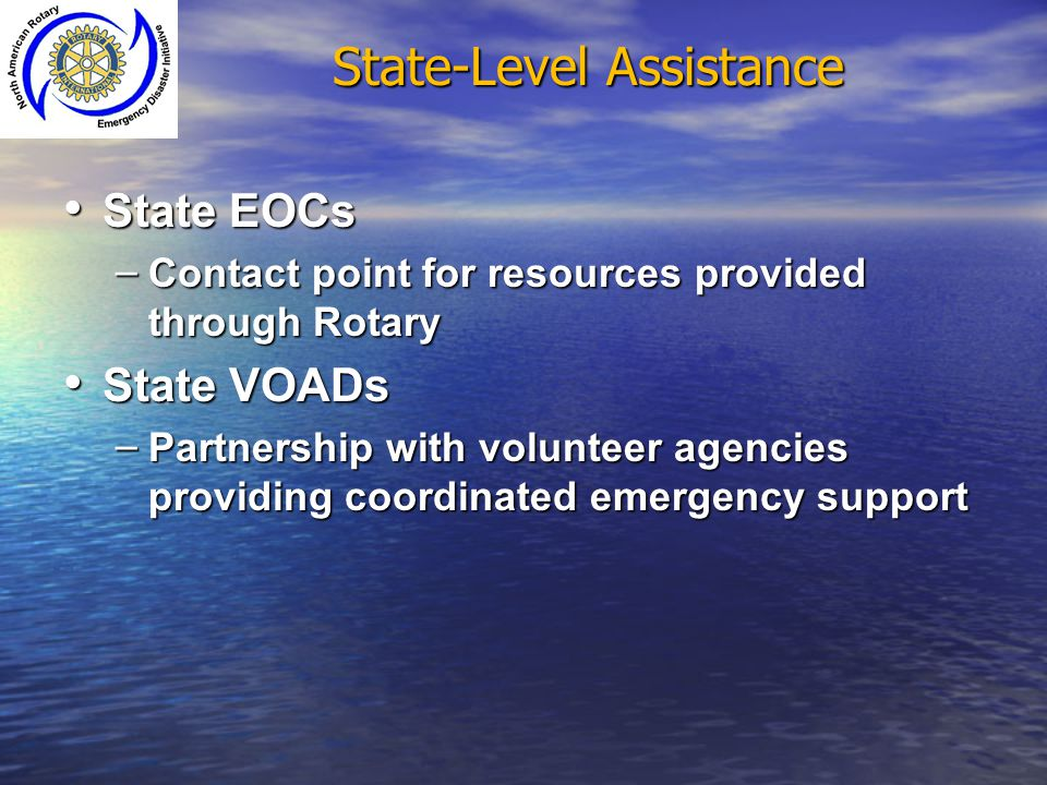 State-Level Assistance