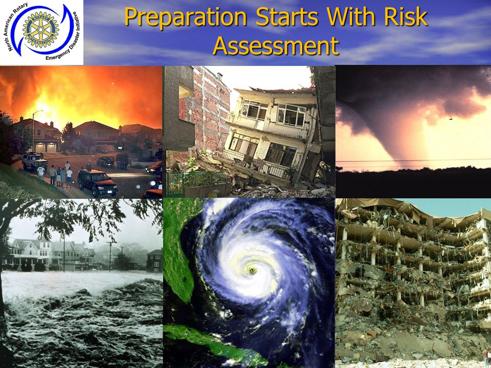 Preparation Starts With Risk Assessment
