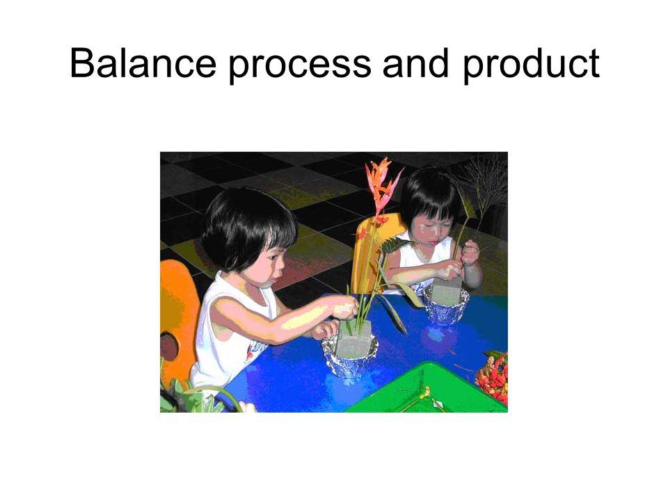 Balance process and product