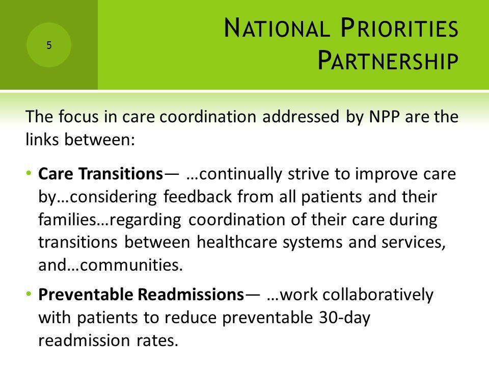 National Priorities Partnership