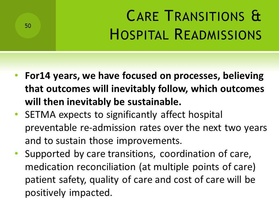 Care Transitions & Hospital Readmissions