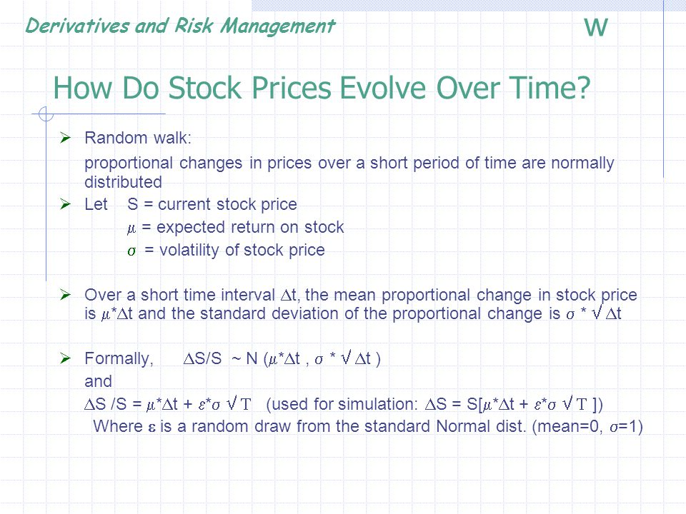 How Do Stock Prices Evolve Over Time