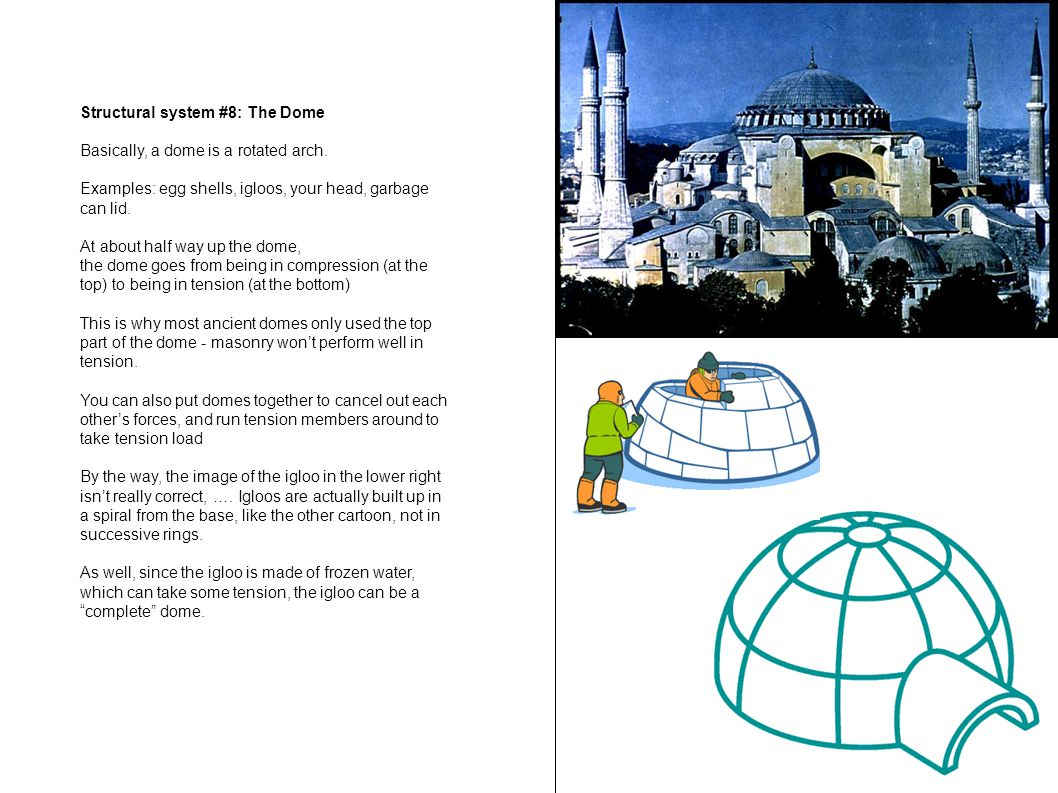 Structural system #8: The Dome