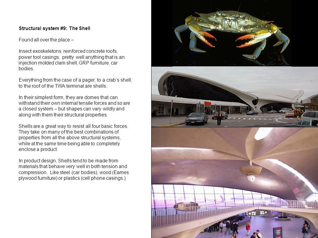 Structural system #9: The Shell