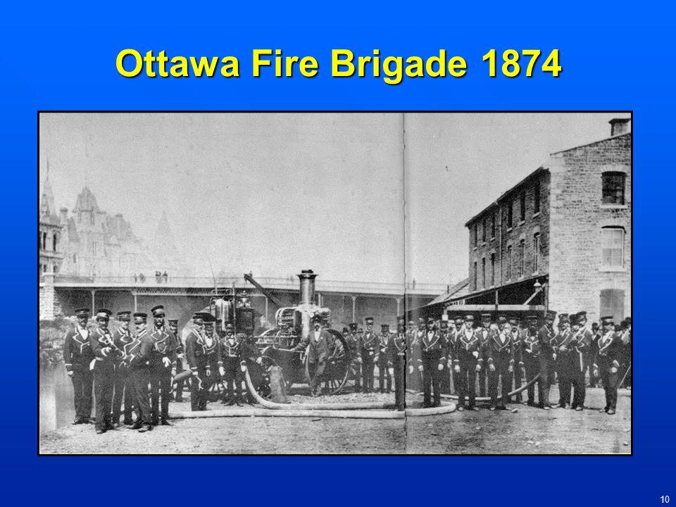 Ottawa Fire Brigade 1874