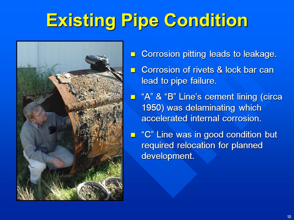 Existing Pipe Condition