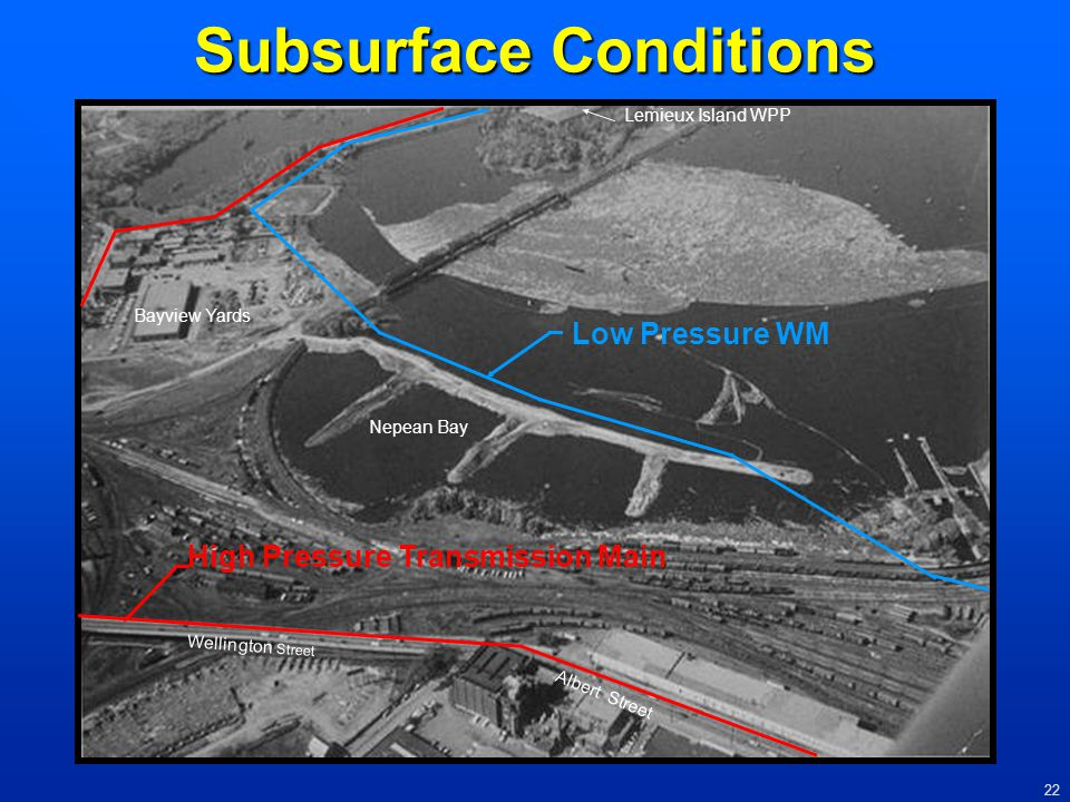 Subsurface Conditions