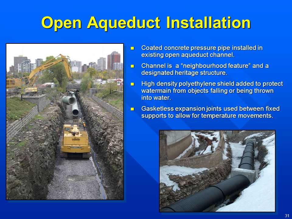 Open Aqueduct Installation