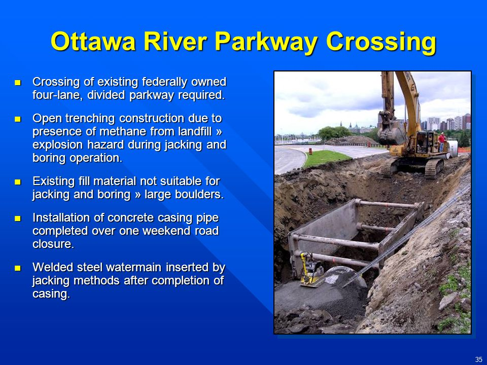 Ottawa River Parkway Crossing