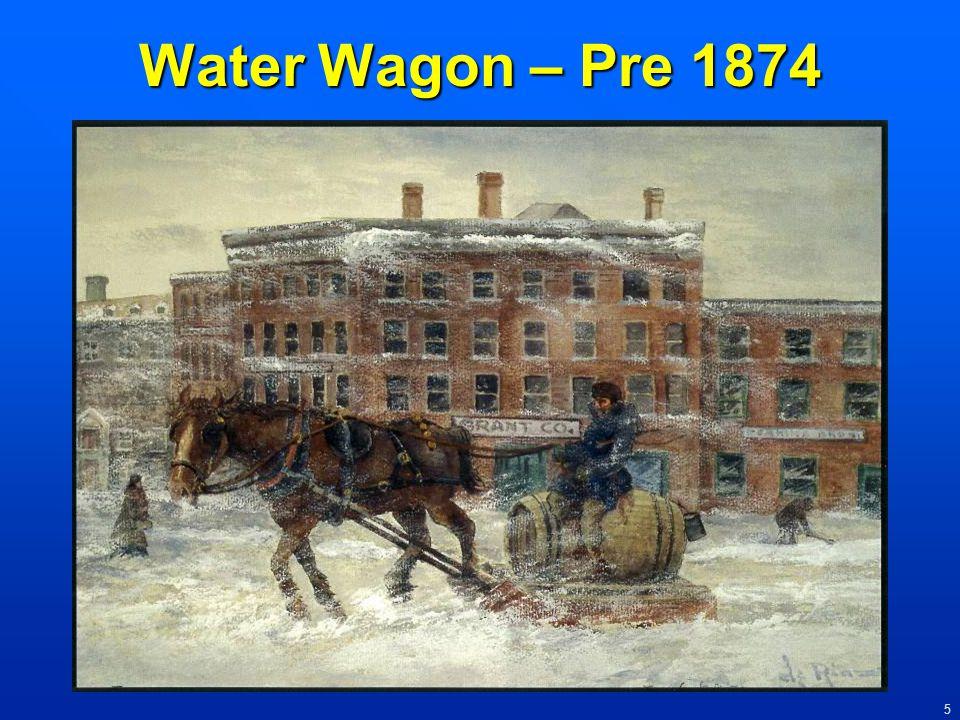 Water Wagon – Pre 1874
