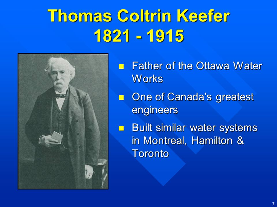 Thomas Coltrin Keefer 1821 - 1915