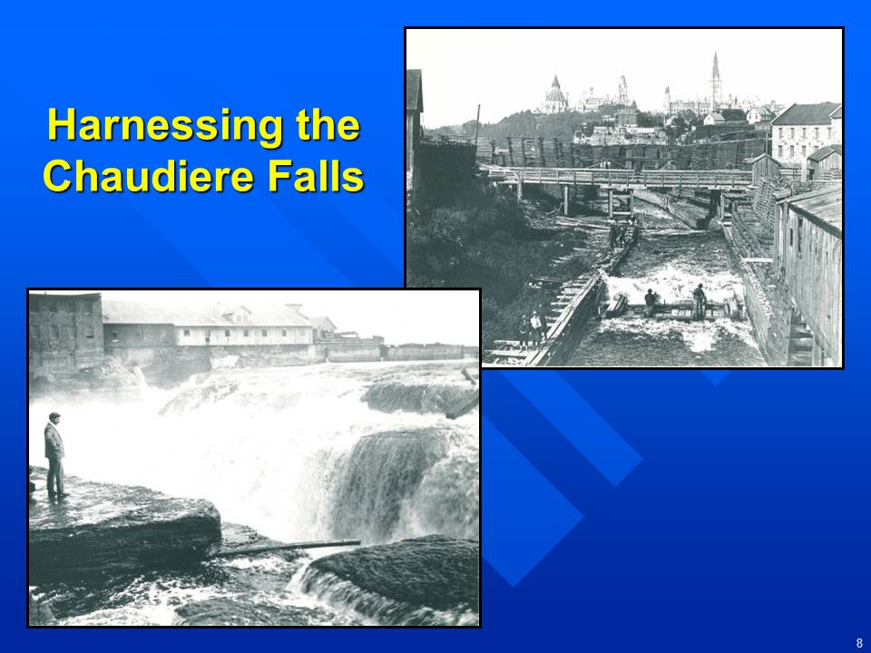 Harnessing the Chaudiere Falls