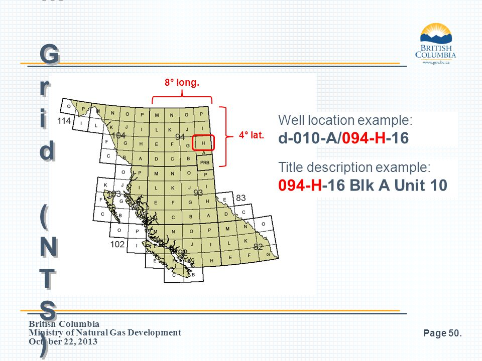 Petroleum Grid (NTS) d-010-A/094-H-16 094-H-16 Blk A Unit 10