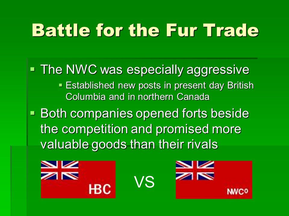Battle for the Fur Trade