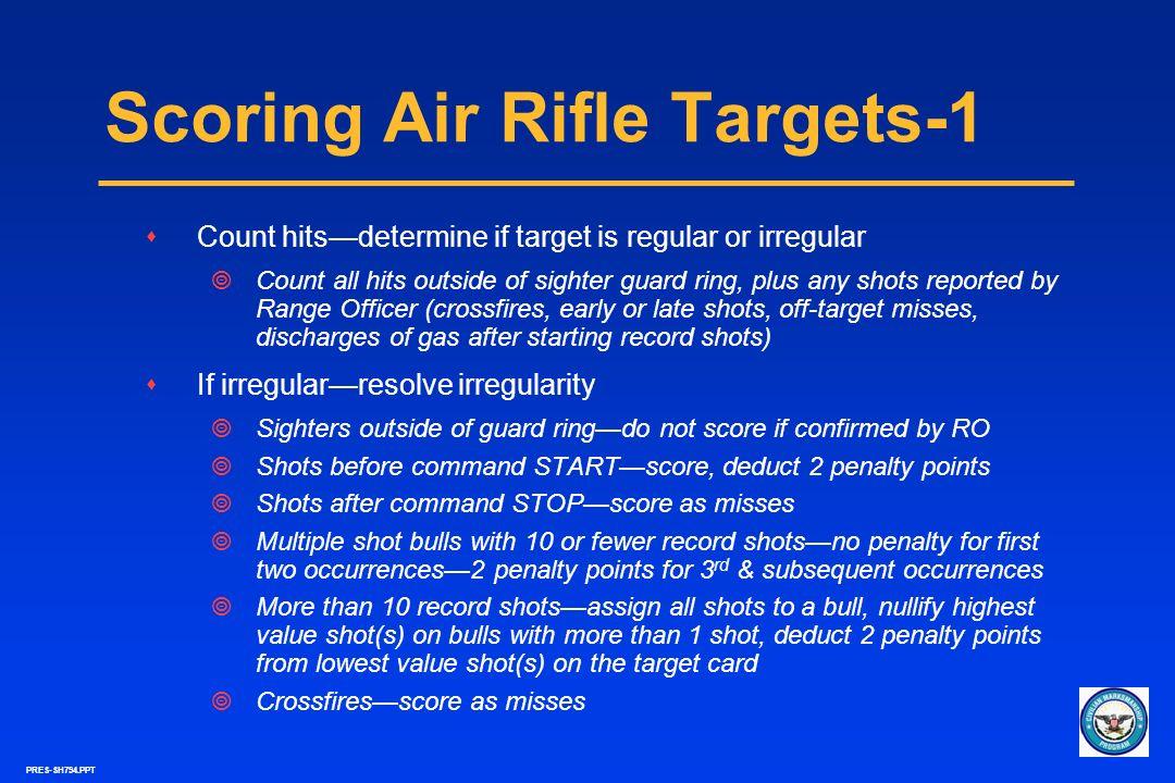 Scoring Air Rifle Targets-1