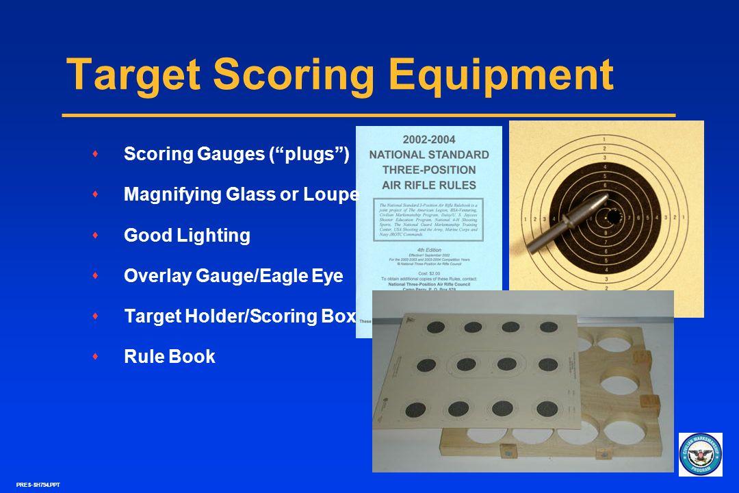 Target Scoring Equipment