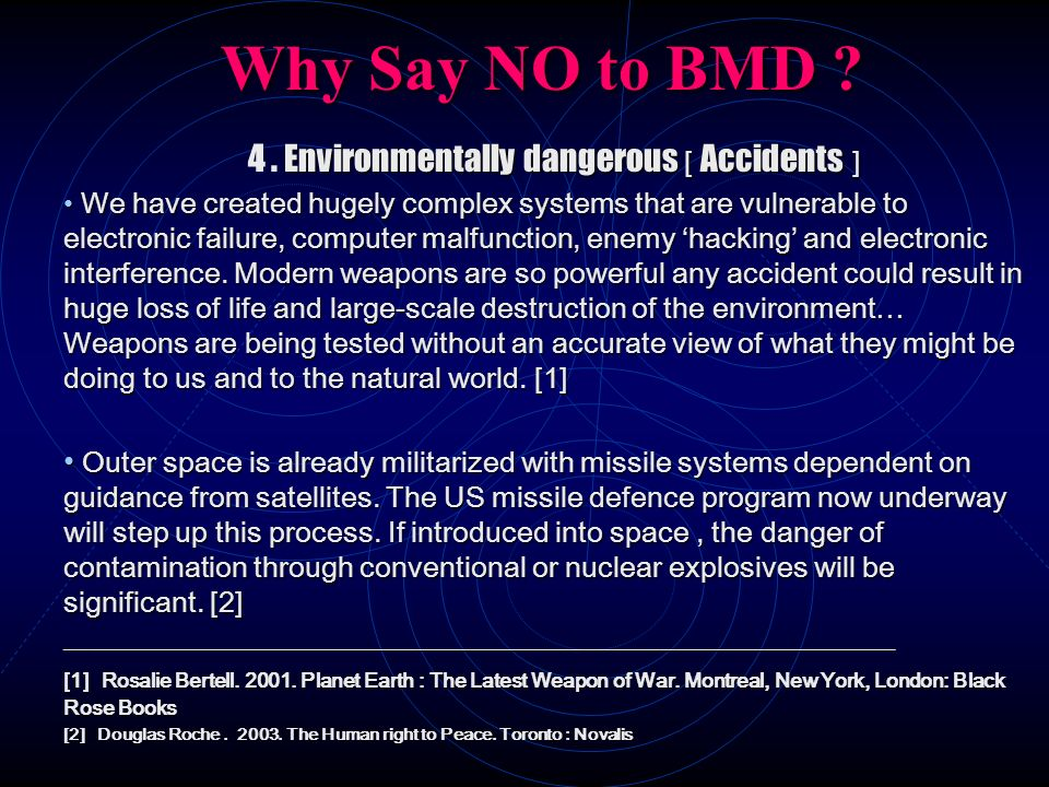 4 . Environmentally dangerous [ Accidents ]