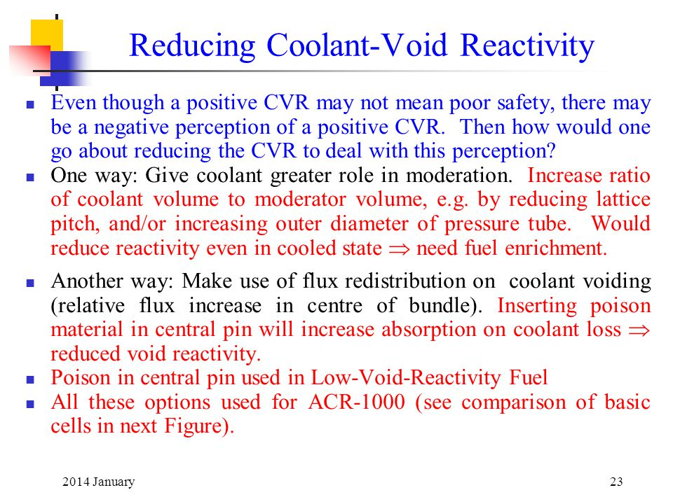 Reducing Coolant-Void Reactivity