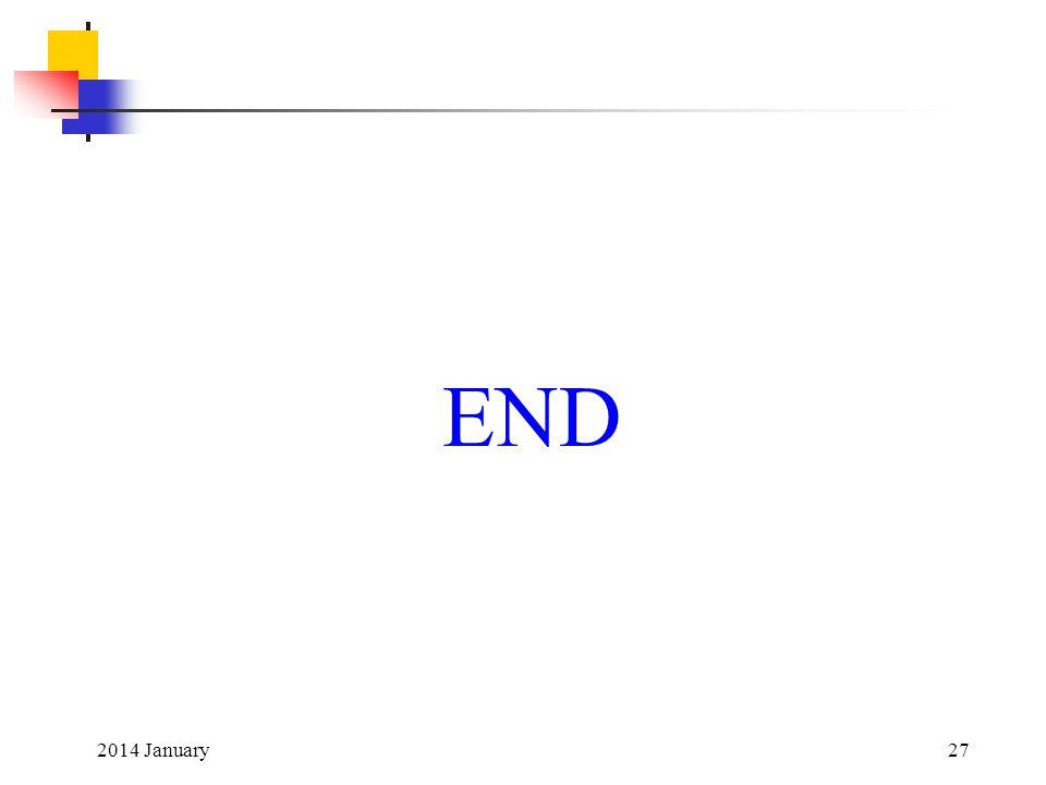END 2014 January