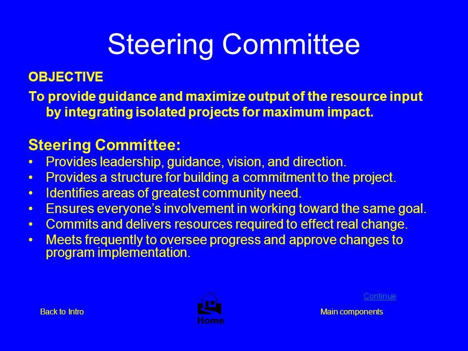 Steering Committee  Steering Committee: OBJECTIVE