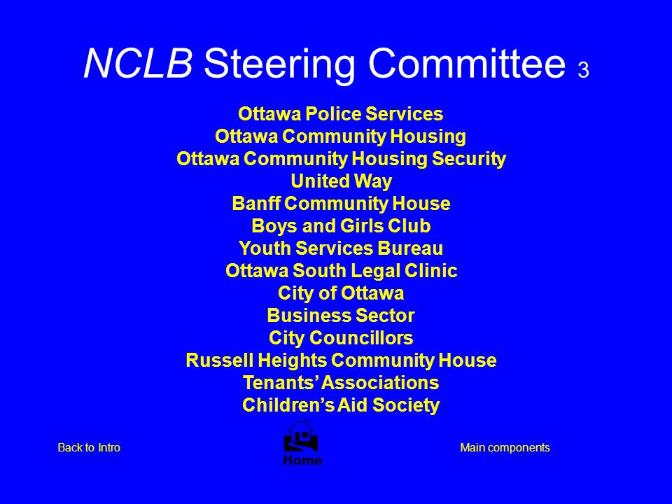 NCLB Steering Committee 3
